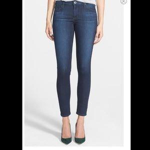 AG The Legging Ankle Super Skinny Jeans Coal Blue